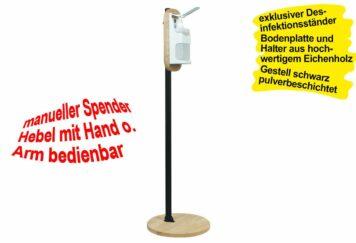Desinfektionsmittelständer OAK