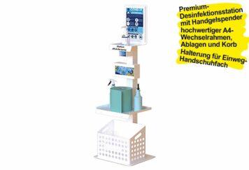 Desinfektionsmittelstation PREMIUM