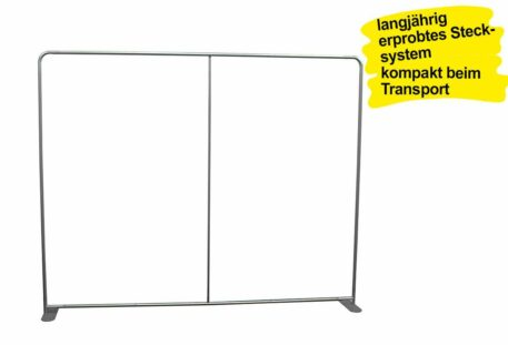 Displaywand gerade COUCH - Gestell