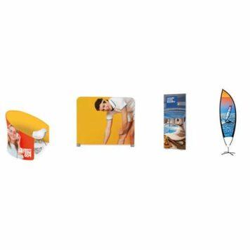 Textilspannbanner / Displaywand / Werbefahnen