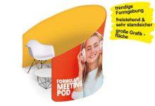 Displaywand MEETING