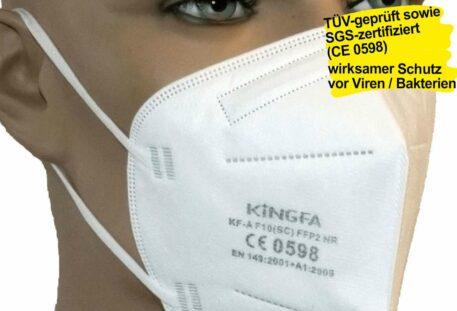 FFP2-Maske MEDICAL - CE 0598