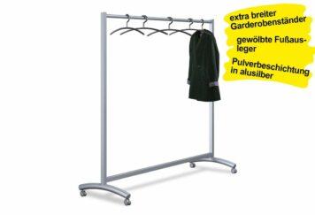 Garderobenständer fahrbar WIDE