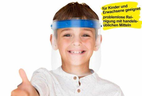Gesichtsschutz Visier DELUXE - Kind