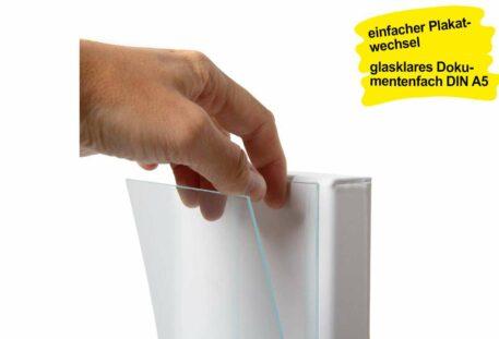 Handdesinfektionsspender PRE - Dokumentenfach