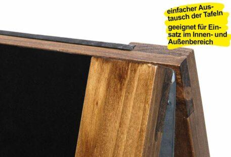Holz Kundenstopper ANTIK - robust