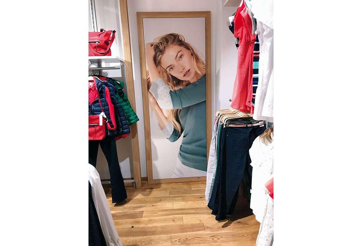 Holz Textilspannrahmen Wand BEAUTY - Einzelhandel