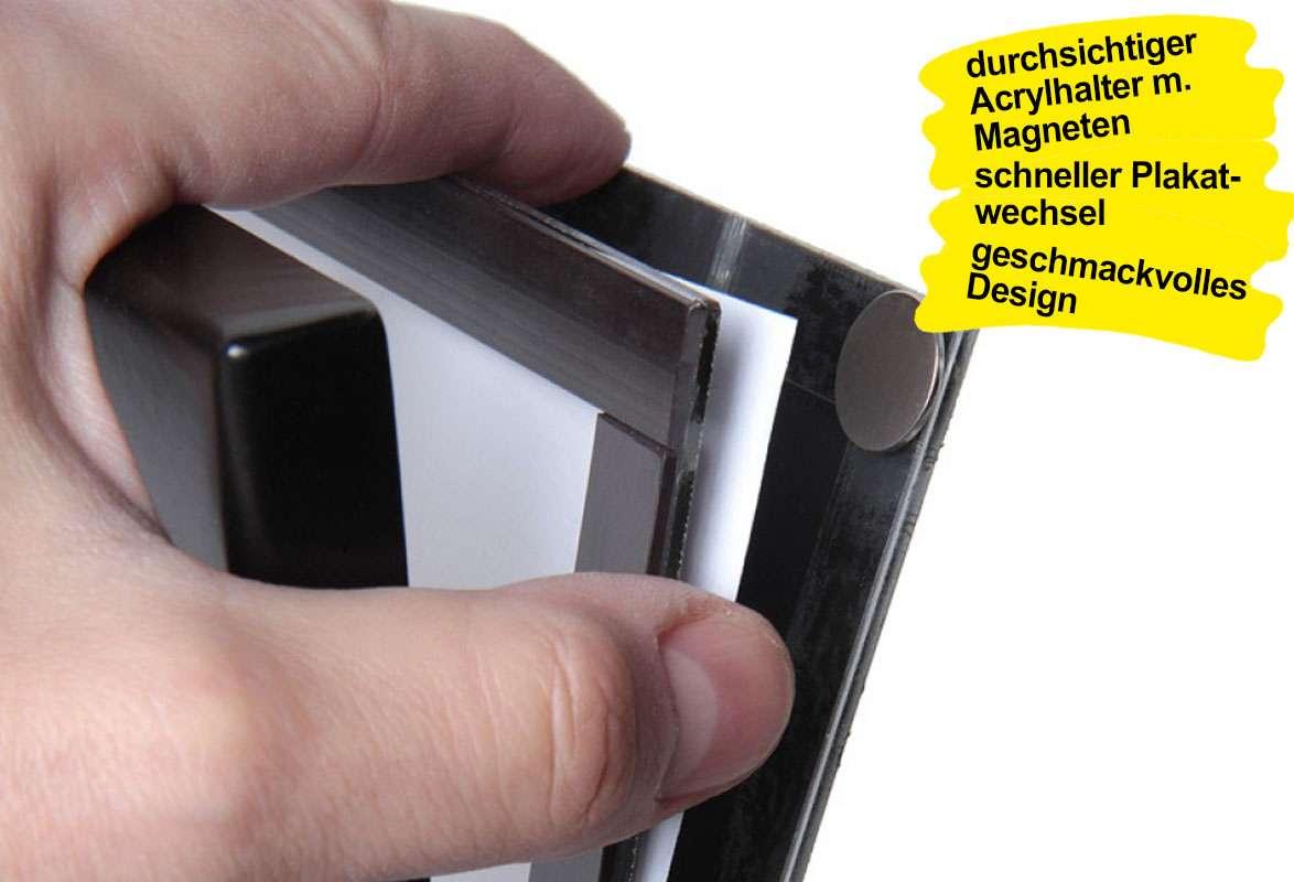 Infoständer A4 DISPLAY - Posterwechsel