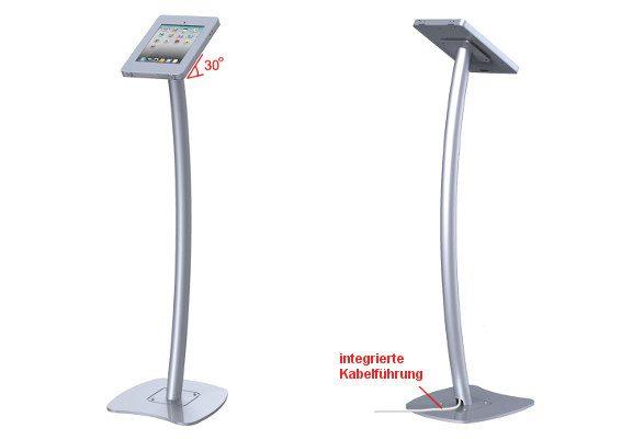 iPad Bodenständer CRAZY Kabelführung