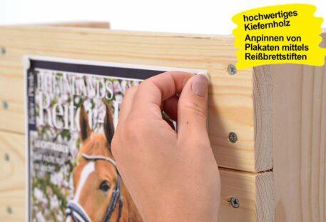 Katalogständer Holz A4 PINEWOOD - Plakatfläche