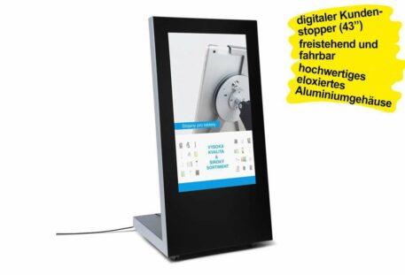 Kundenstopper digital SLON