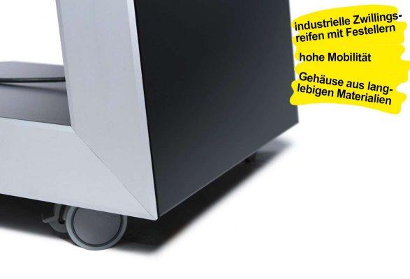 Kundenstopper digital SLON - Gehäuse