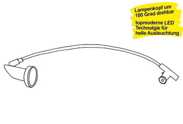 LED Strahler POINT (5 Watt) - Drehkopf