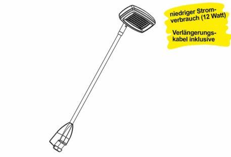 LED Strahler SHUTTLE (12 W) - Design