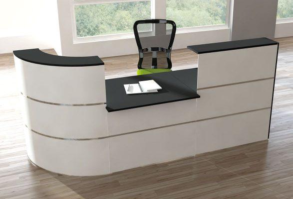Messetheke JETSTREAM - Theke mit integriertem Schreibtisch