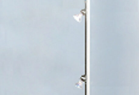Stromschiene Messevitrine CLEAR