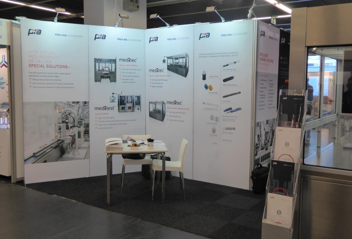 Messewand BARON 50 – Preh IMA Automation Amberg GmbH