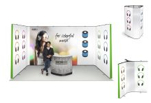mobiler Messestand Expand LinkWall