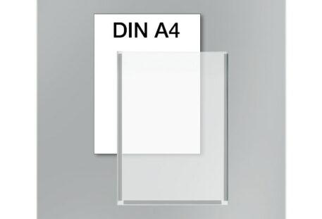 Plakattasche A4 - Magnetstreifen