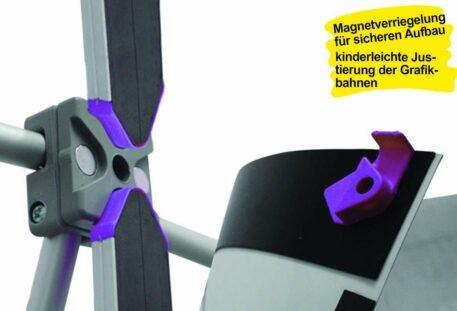 PopUp Display COMPLETE - Magnetschiene