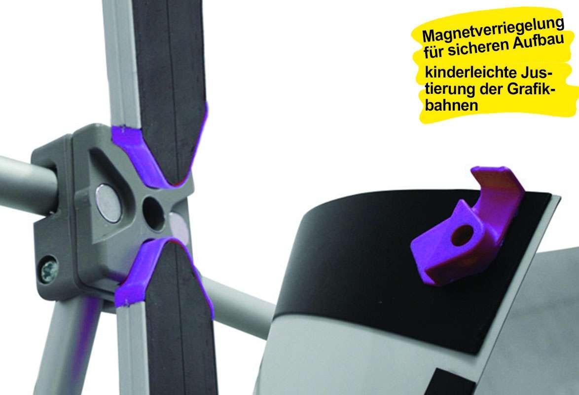 PopUp Display COMPLETE – Magnetschiene