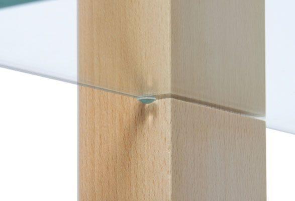Präsentationsregal WOOD - Glasstopper
