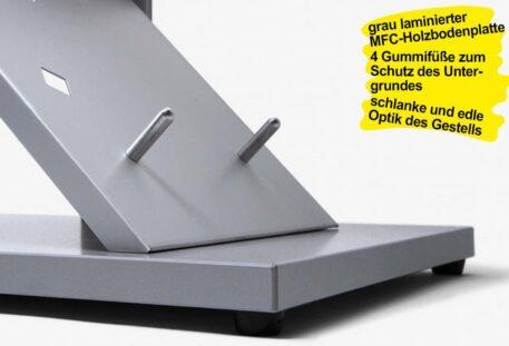 Prospektständer A4 MOSE - Bodenplatte