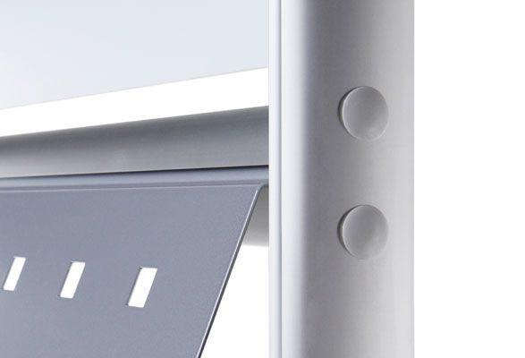 Prospektständer A4 NECKAR - Ovalprofil