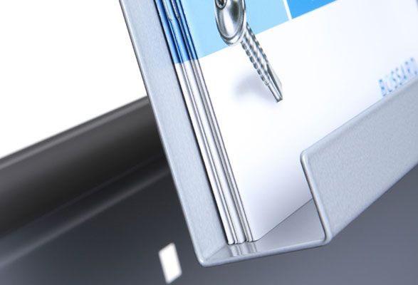 Prospektständer A4 NECKAR - Rutschkante