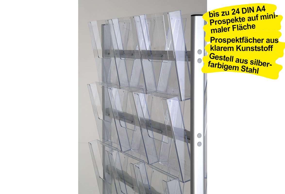 Prospektständer A4 STADE - Prospektfächer