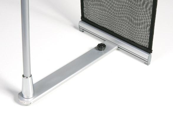 Prospektständer aufrollbar A4 STALKER - Fuss