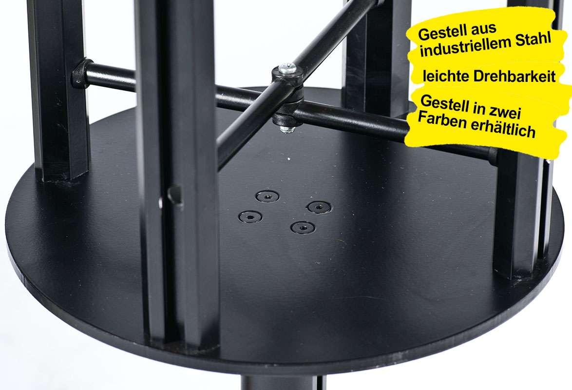 Prospektständer drehbar A4 MASTER – Drehgestell