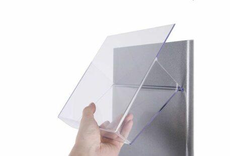 Prospektständer drehbar GRANDE - Einhängung