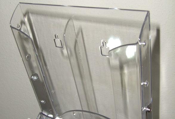 Prospektständer faltbar A4 AMIGO - Prospektfach