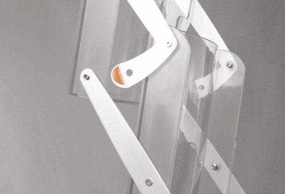 Prospektständer faltbar A4 POWER Verriegelung