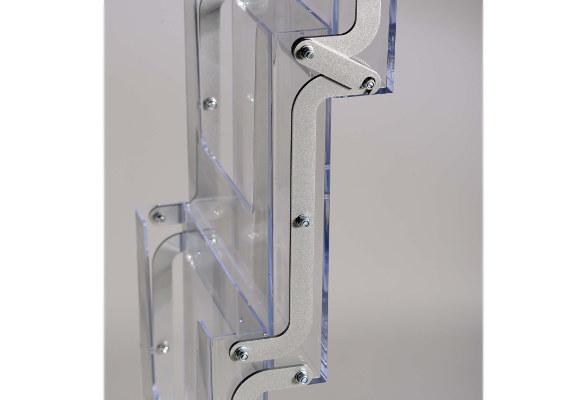 Prospektständer faltbar A4 RANGER - Prospektfächer