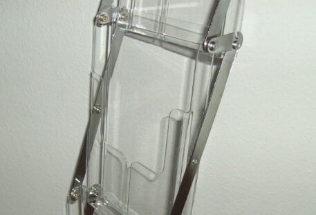 Prospektständer faltbar A4 STORE - Prospektfächer