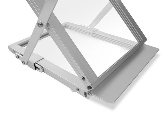 Prospektständer faltbar A4 STYLE - Bodenplatte
