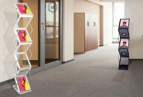 Prospektständer faltbar A4 STYLE - Büro