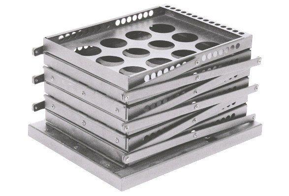 Prospektständer faltbar A4 STYLE LOCH kompakt