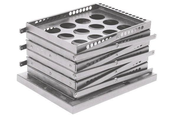 Prospektständer faltbar A4 STYLE LOCH - kompakt