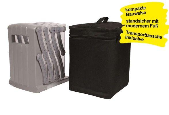 Prospektständer faltbar A4 TORNADO - kompakt