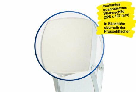 Prospektständer faltbar PICK - Werbeschild