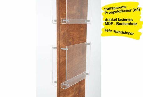 Prospektständer Holz A4 SIBRA - Gestell