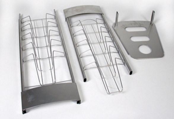 Prospektständer zerlegbar A4 PROMI 10 - Bauteile