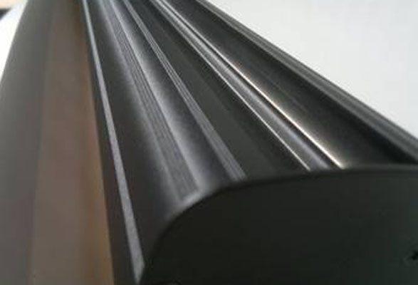 RollUp Banner BLACK - Grafikkassette