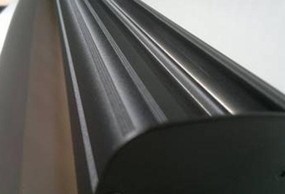 RollUp Banner BLACK – Grafikkassette