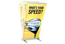 RollUp Banner Expand MediaScreen 2 OUTDOOR