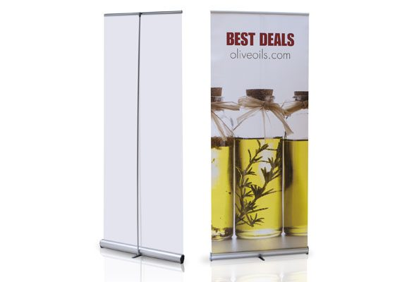 RollUp Banner Expand Promo RollUp - Rückseite