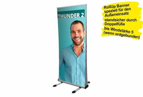 RollUp Banner Outdoor WINDY